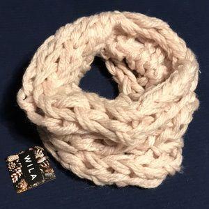 Must-have cream large loop scarf